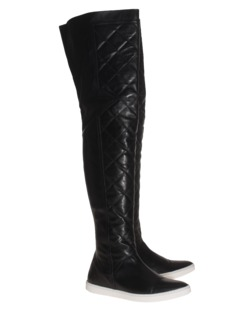 SLY 010 Over Leather Stretch Black