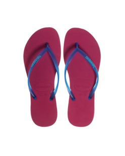 HAVAIANAS Slim Cherry Red Blue
