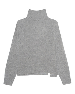 360 Cashmere Turtleneck Cashmere Grey