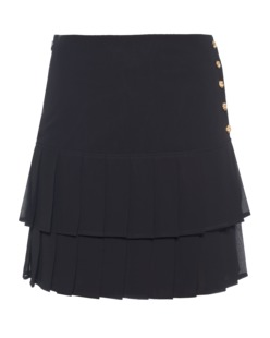EDWARD ACHOUR Pleat Gold Black