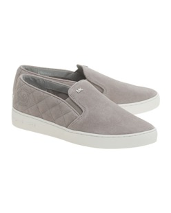 MICHAEL Michael KORS Keaton Quilted Grey