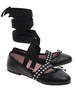 PRETTY BALLERINAS Coton Negro