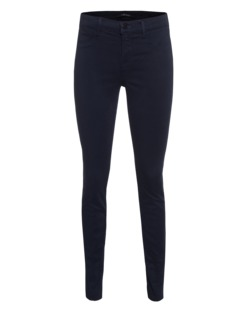 J BRAND 485 Super Skinny Luxe Sateen Twilight