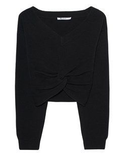 T BY ALEXANDER WANG Deep V Twist Black