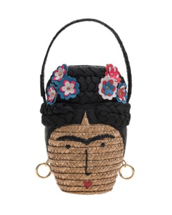 LULU GUINNESS Frida Lulu Basket Head