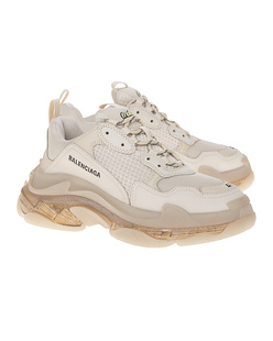 BALENCIAGA  Triple S Clear Sole Cream