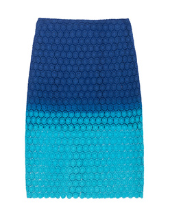 GLAW Batik Skirt Lace Blue