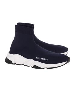 BALENCIAGA Speed LT Sole Bicolor Navy