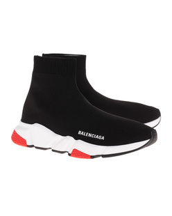 BALENCIAGA  Speed LT Sole Bicolor Black
