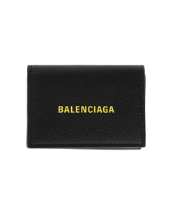 BALENCIAGA Mini Wallet Yellow Black