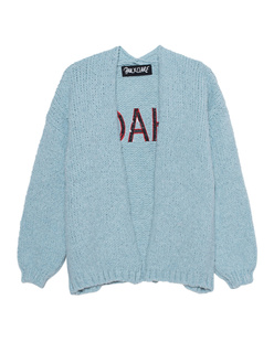 PAUL X CLAIRE Oversize Open Stitching Light Blue