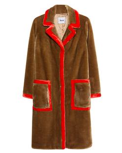 STAND Fake Fur Chantal Brown