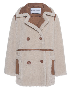 STAND STUDIO Chloé Faux Shearling Off-White
