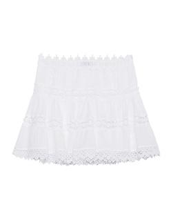 CHARO RUIZ IBIZA Hole Crochet Floral White