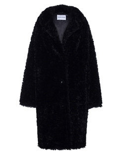 STAND STUDIO Anika Faux Fur Curly Black