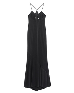 GALVAN LONDON Spaghetti Satin Black