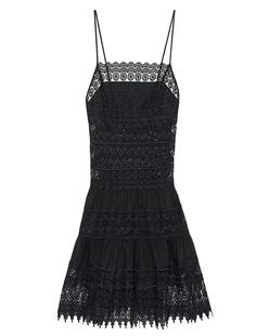 CHARO RUIZ IBIZA Short Lace Negro Black