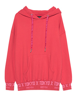 PAUL X CLAIRE X Hoodie Tokyo Fiery Red
