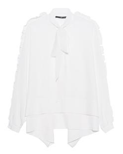 SLY 010 Oversize Ruffle White