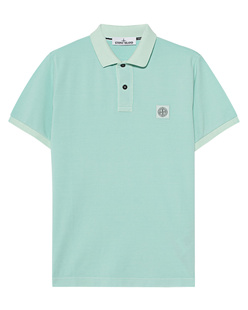 STONE ISLAND Dyed Small Logo Mint Water Blue