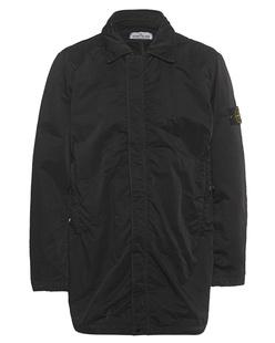 STONE ISLAND Coat Logo Patch Black