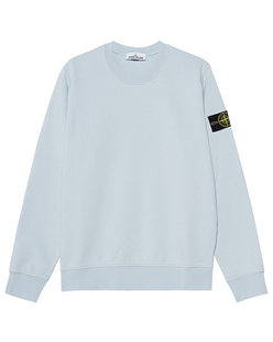 STONE ISLAND Logo Patch Light Blue