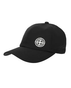 STONE ISLAND Softshell Logo Black