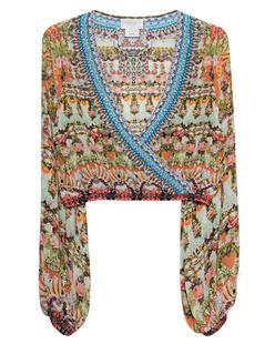 CAMILLA Wrap Front Midriff Multicolor