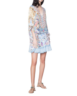 CAMILLA Short Lace Up Multicolor
