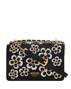 MOSCHINO Allover Flower White Black