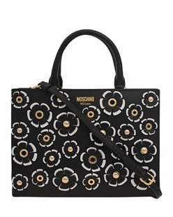 MOSCHINO Flower All Over Black