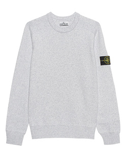 STONE ISLAND Knit Clean Light Grey