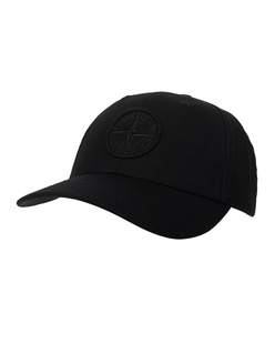 STONE ISLAND Basic Logo Black