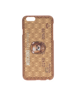 MOSCHINO Credit Case Gold