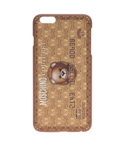 MOSCHINO Credit Phone Gold
