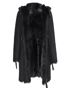SLY 010 Shearling Black Anthra