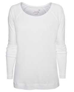 JUVIA Basic Clean Raglan White