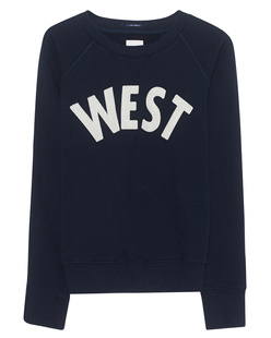MOTHER Sweater West Navy