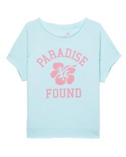 JUVIA Paradise Print Turquoise