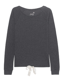 JUVIA Sweat Bow Anthracite