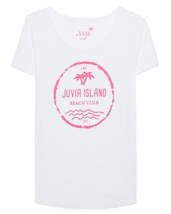 Juvia Island Shirt White