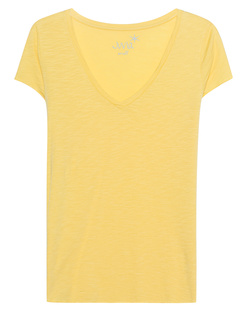 JUVIA Basic V-Neck Sunshine