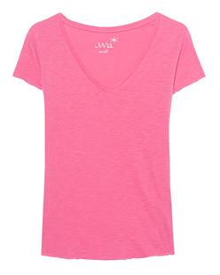 JUVIA Basic V-Neck Pink