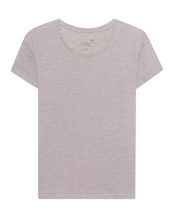 JUVIA Basic Shirt Pearl Grey
