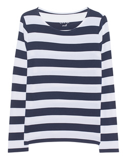 JUVIA Stripes Long Deep Blue