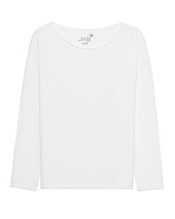 JUVIA Sweat Oversized White