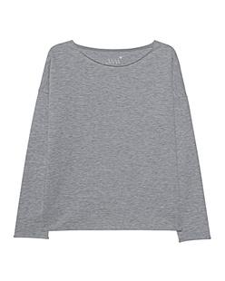 JUVIA Fleece Sweater Oversized Graphit