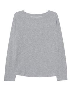 JUVIA Fleece Sweatshirt Grey Melange
