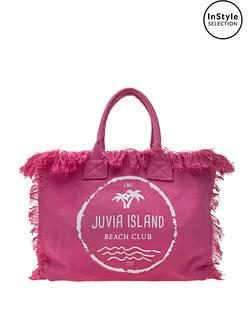JUVIA Beach Bag Pink