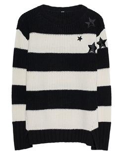 SLY 010 Knit Stars Black White